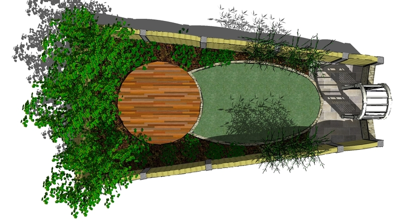 Garden Design Drawing drawing 2 Cad Drawings Of Gardens Designs In Ireland Landscapingie