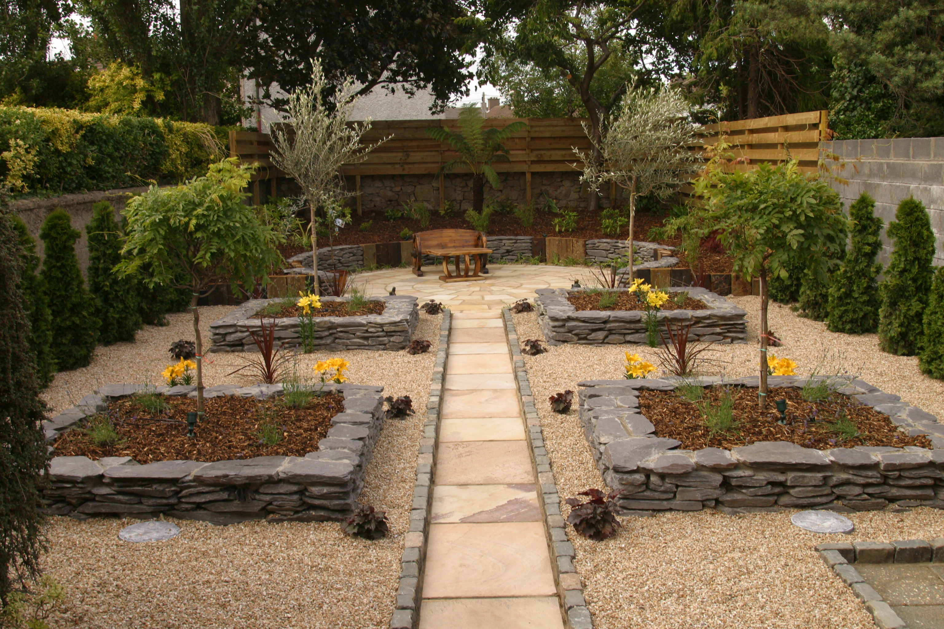 low maintenance garden design - Garden Design Low Maintenance