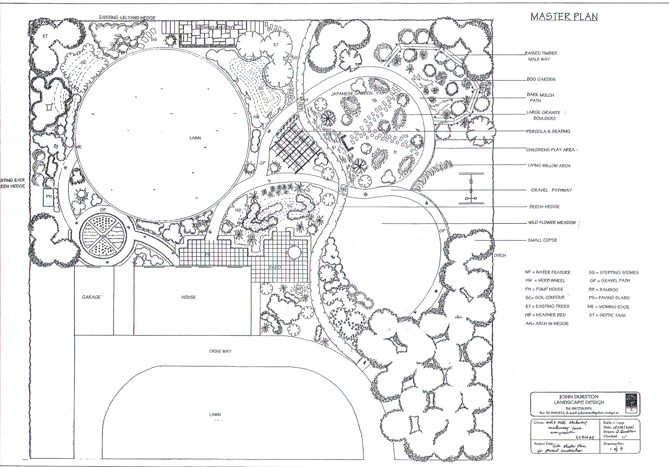 Landscaping garden designer landscaper dublin wikclow for Garden design drawing