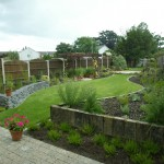 Garden Landscaped with a Modern Design in Bray, Wicklow - Landscaping.ie