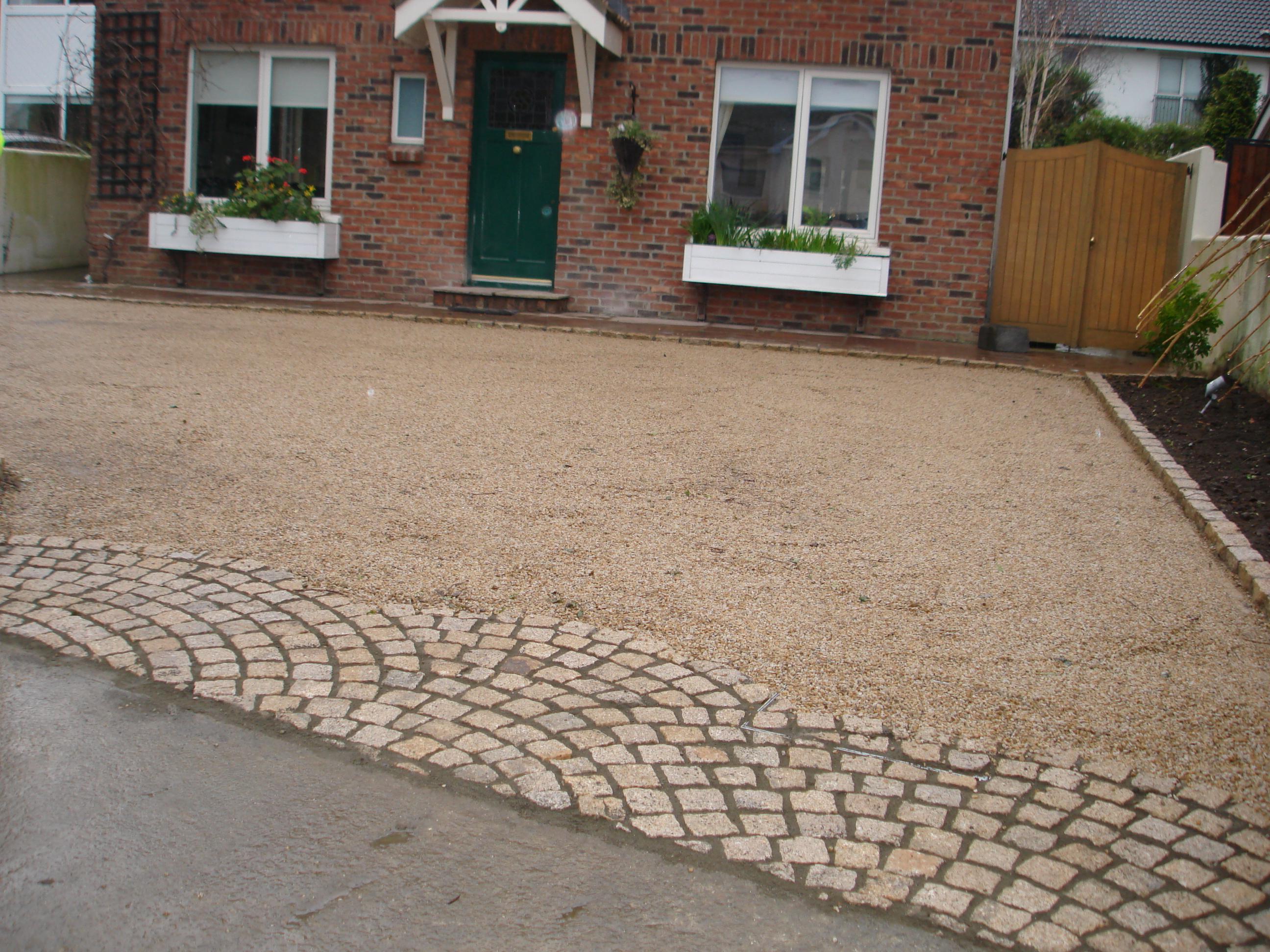 Granite Driveway Apron Images