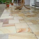 Quartzite mixed sized patio