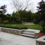 Granite raised beds