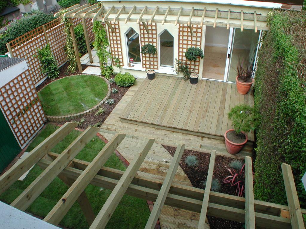 Pergolas garden feature dublin wicklow for Garden design dublin