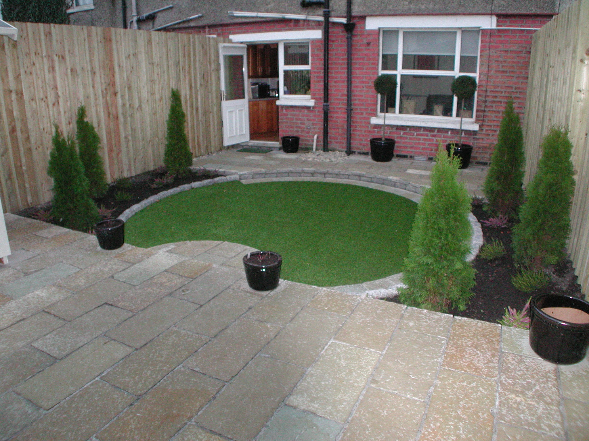 Landscaping Contract and Garden Design for Clonliffe Gardens, Dublin