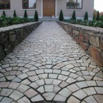 Paved Path in Dalkey, Dublin, Ireland - Landscaping.ie