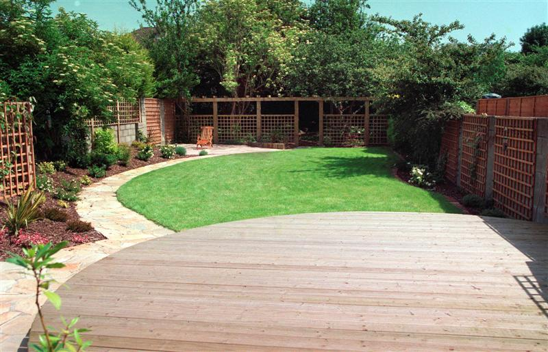 Garden Decking In Garden In Dublin