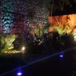 Landscaped Garden With Outdoor Lighting Galloping Green