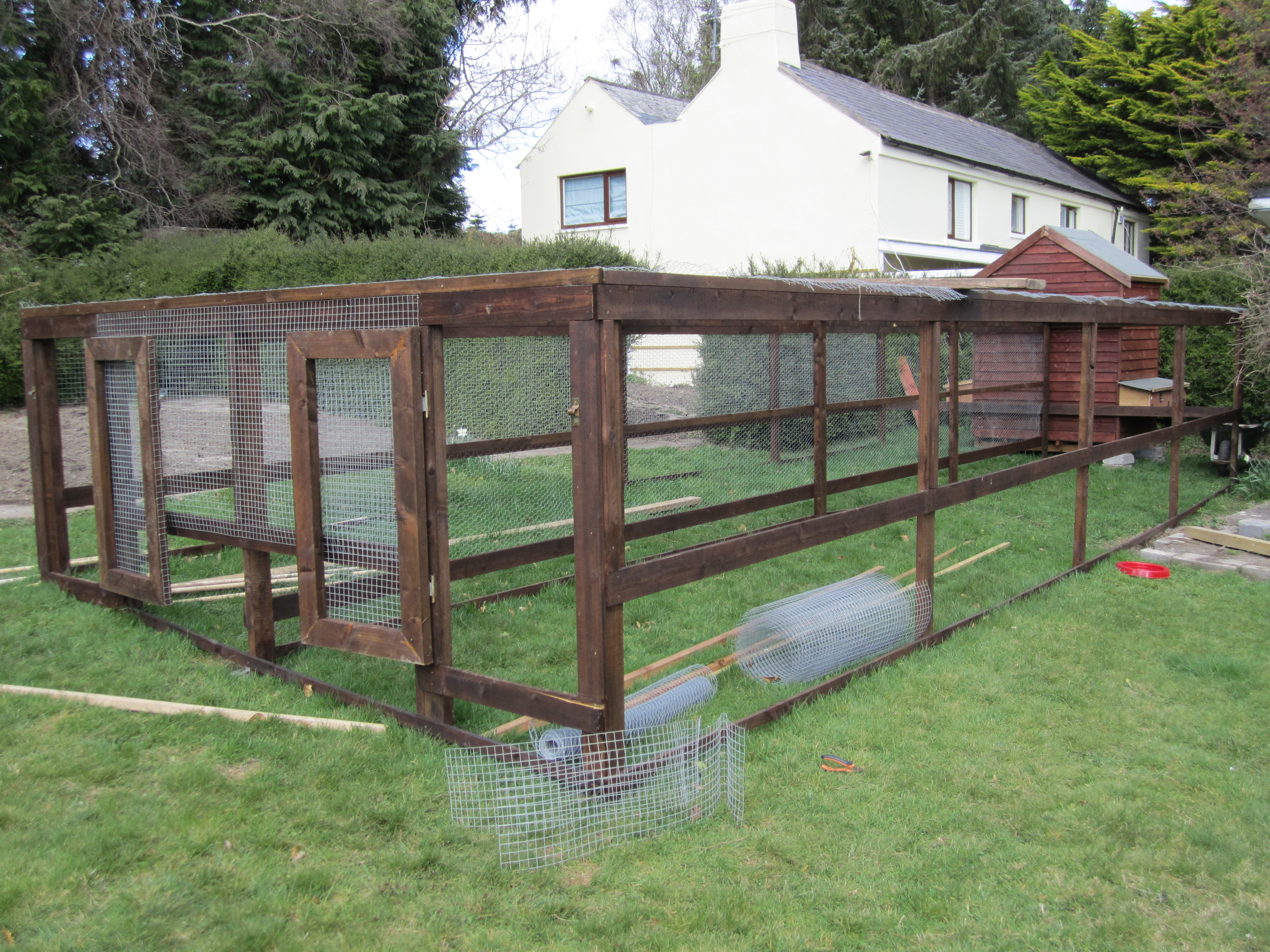 Henhouse and Double Run for Large Garden in Kilmolin, Glencree, Co Wicklow