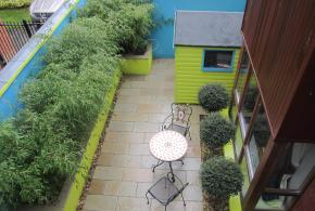 Rooftop Garden and Courtyard, Carrickmines, Dublin