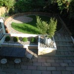 View of Killiney Garden Landscaped by Kevin Baumann