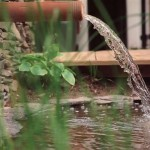 Kimmage Water Feature in a Landscaping Design Project