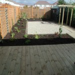 Garden Decking and Planting
