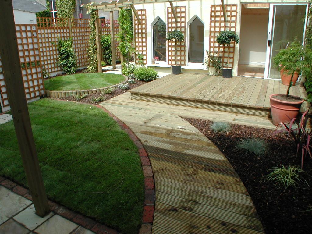 Garden Design Ireland decking, outdoor lighting, landscaping, design monkstown, dublin