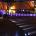 Outdoor Garden Lighting Nighttime Design in Rathfarnham, Dublin, Ireland
