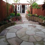Landscaping in a Garden in Walkinstown Dublin Ireland