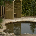 Water Feature in a Landscaping Design