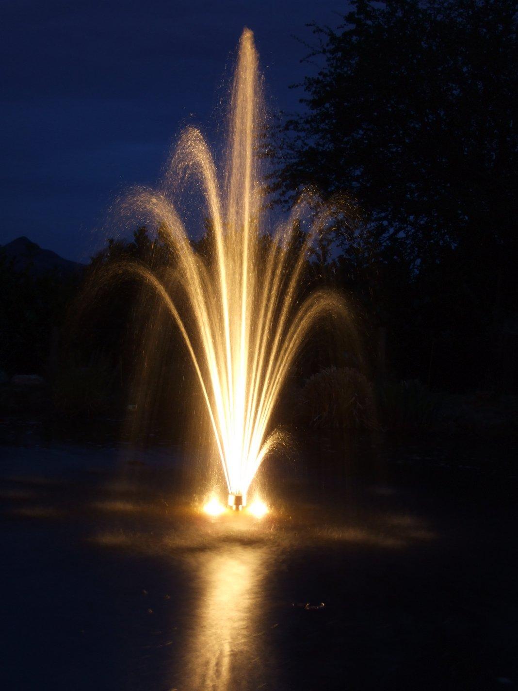 water features outdoor lighting gardens dublin ireland