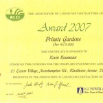 ALCI Award 2007 - Landscaping.ie