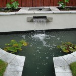 Water Feature Design in a Garden in Dublin, Ireland - Landscaping.ie