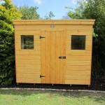 Baumanns garden shed