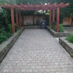 Dunlavin stone raised beds
