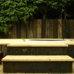 Jacuzzi and Decking in a Garden Design - Landscaping.ie