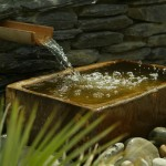 Water Feature in a Garden Bray, County Wickow, Ireland by Kevin Baumannn Landscape Bray-7
