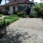 Churchtown Driveway with Landscaped Garden Lawn