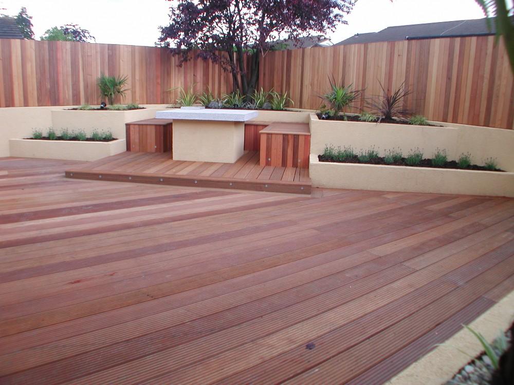 Cedar wall extension