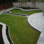 Silver granite patio