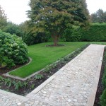 Garden Path and Landscaping Design in Dalkey, Dublin, Ireland