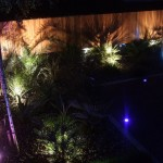 Outdoor Garden Lighting Design in a Garden in Galloping Green
