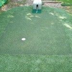 Golf Putting Green in a Garden Design