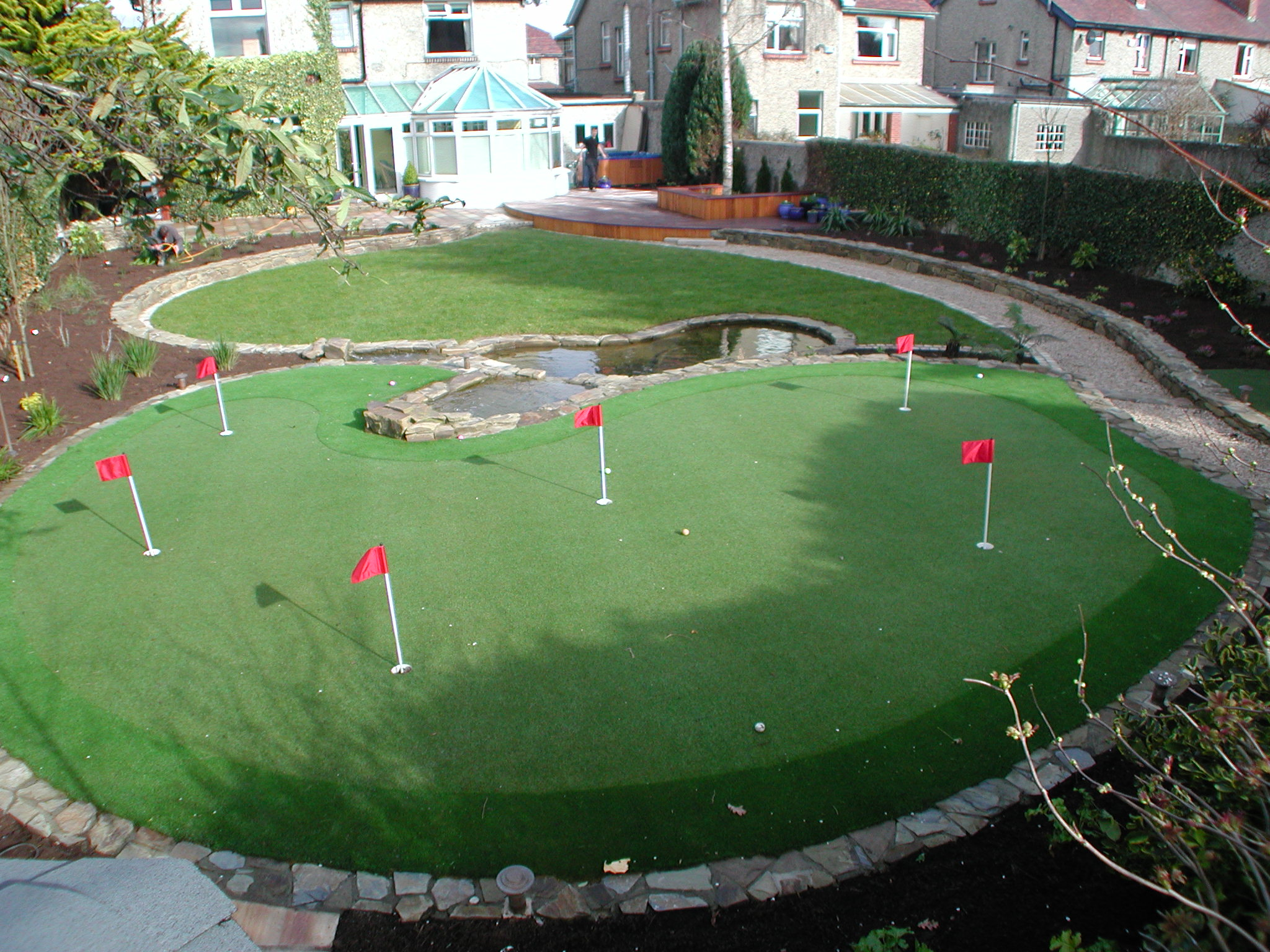 Synthetic Golf Putting Greens Grass Lawns Landscaping