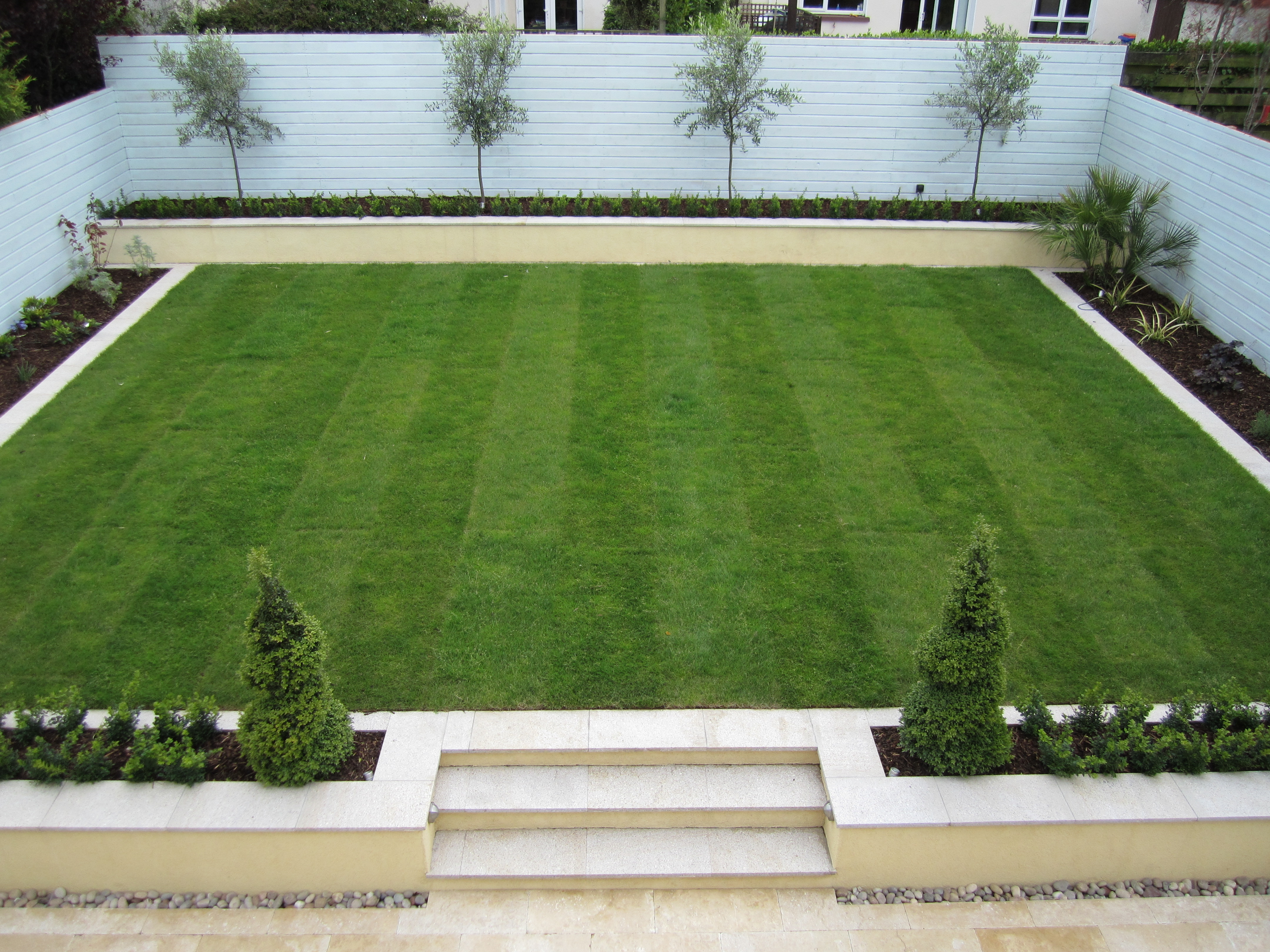 Planting for Garden Designs Dublin, Wicklow - Landscaping.ie on Patio And Grass Garden Ideas id=12799