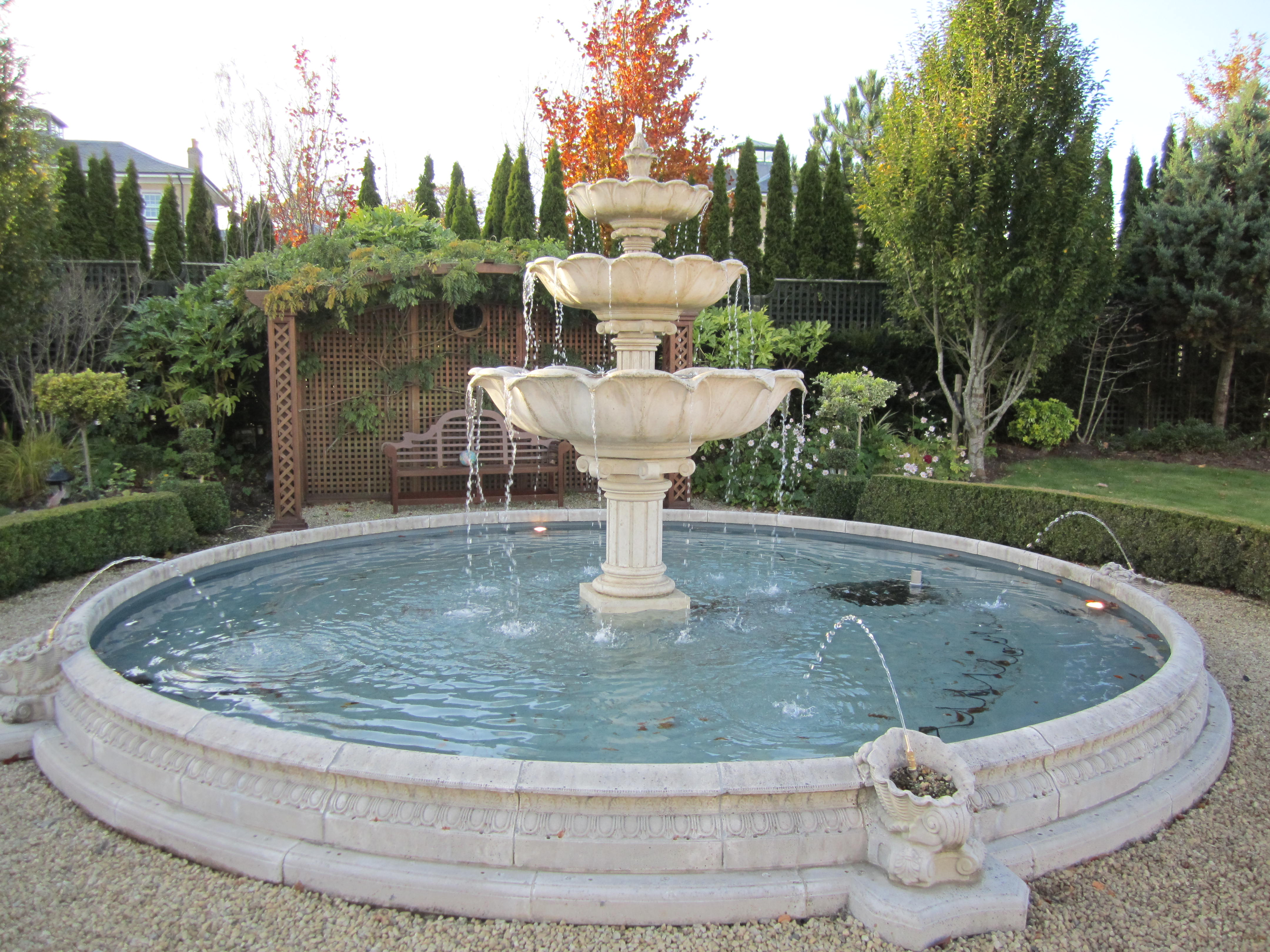 Waterfeatures by Kevin Baumann of Landscaping.ie