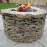 Fire pit and barbecue