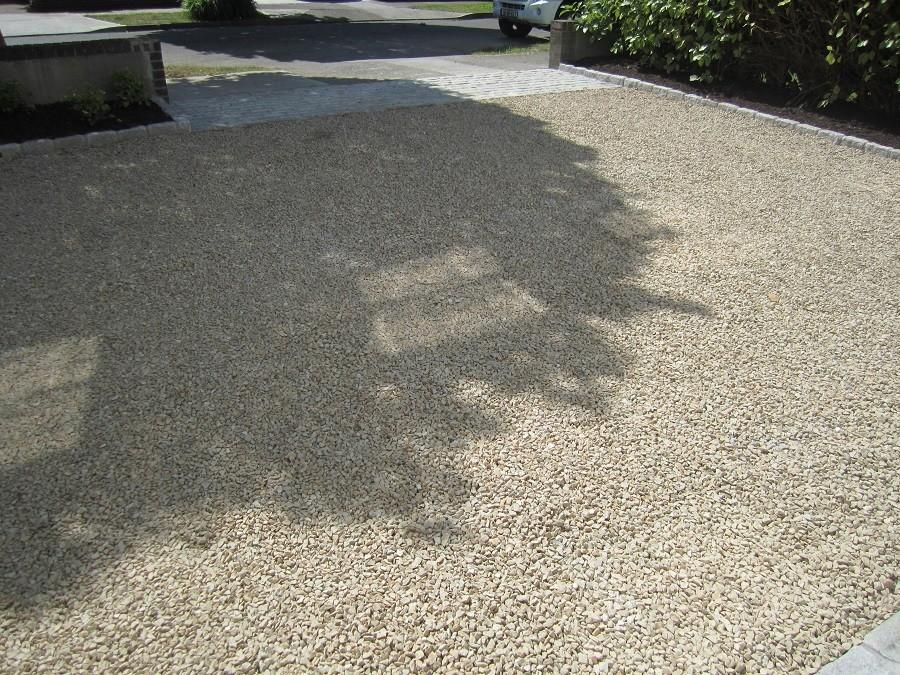 Ballylusk gravel and cobble apron