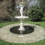 Cast iron water feature