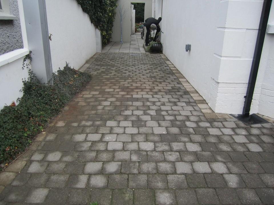Area leading to front door