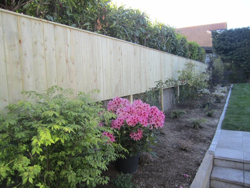 Pressure treated Scandinavian Spruce wall extension