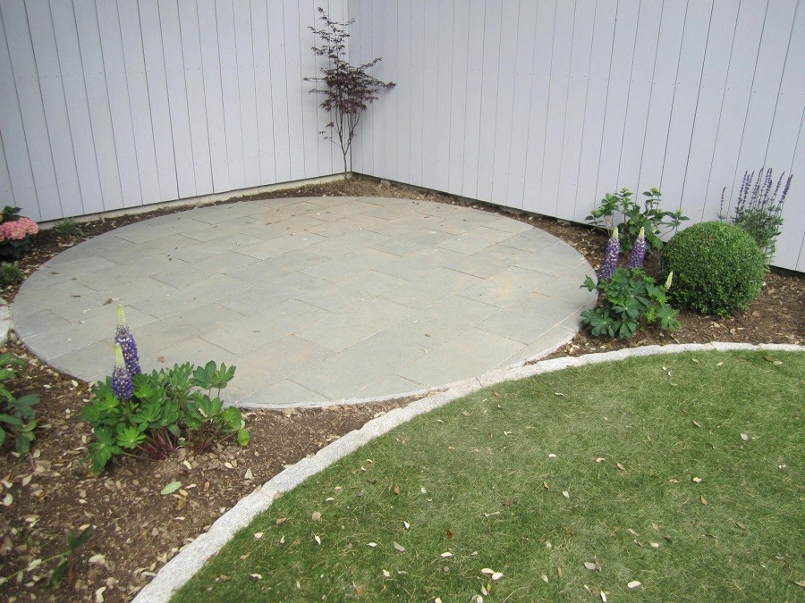 Circular seating area