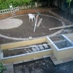 Landscaping Garden Design in Progress