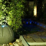 Exterior Garden Lighting Design in Killiney by Landscaping.ie