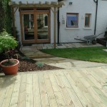 Garden Decking in Monkstown, Dublin, Ireland - Landscaping.ie