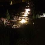 Outdoor Lighting in a Garden in Ireland