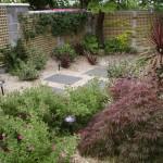 Small garden planting, low maintenance