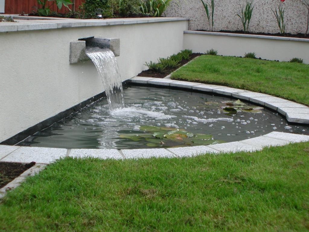 Water Feature in Castleknock, Dublin, Ireland